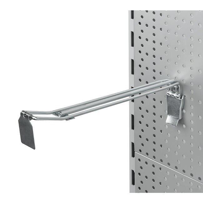 Heavy Duty Pegwall Double Hook