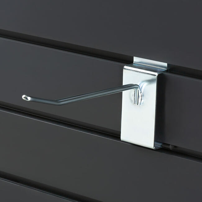Slatwall Single Hook with Lock
