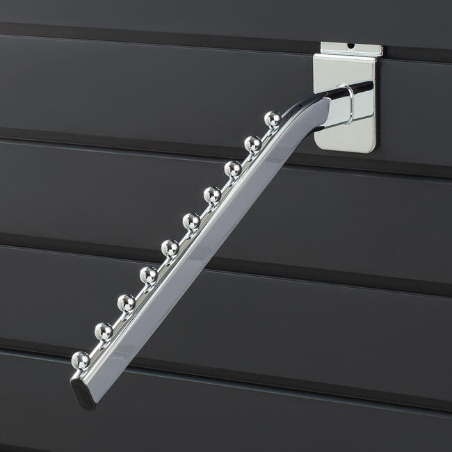 Hanging Arm with 10 Balls, chrome coloured