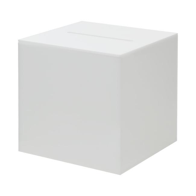 Opal Raffle Box, acrylic