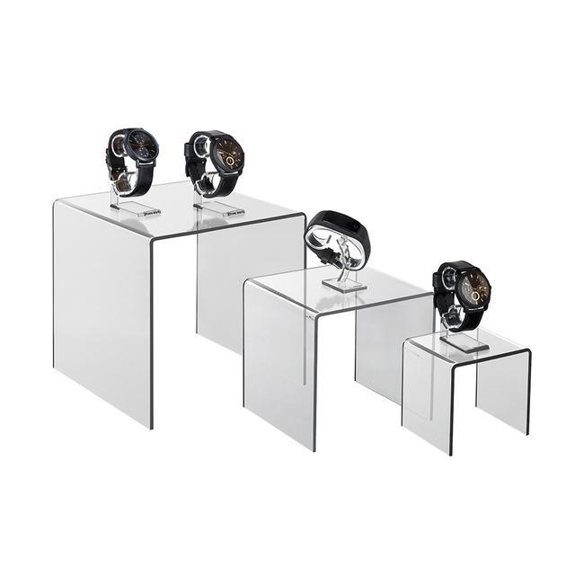 3 Part Acrylic Pedestal Set