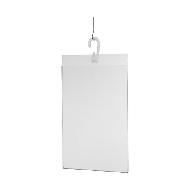 Acrylic Poster Pocket with Hook A4 – A5