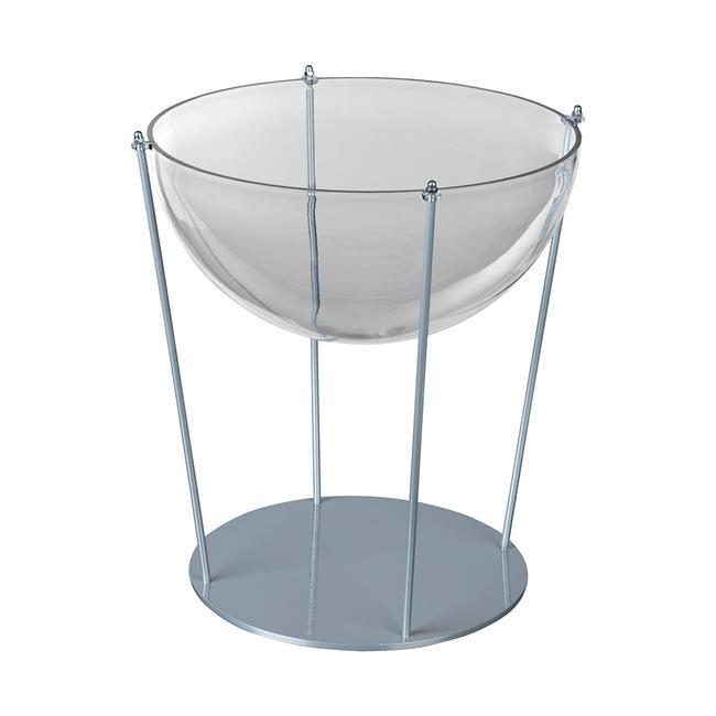 Hemisphere with Metal Base, table-top vesrion