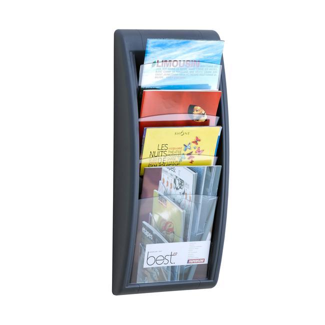 """Wall Mounted Multiple Pocket Leaflet Holder """"Avena"""""""
