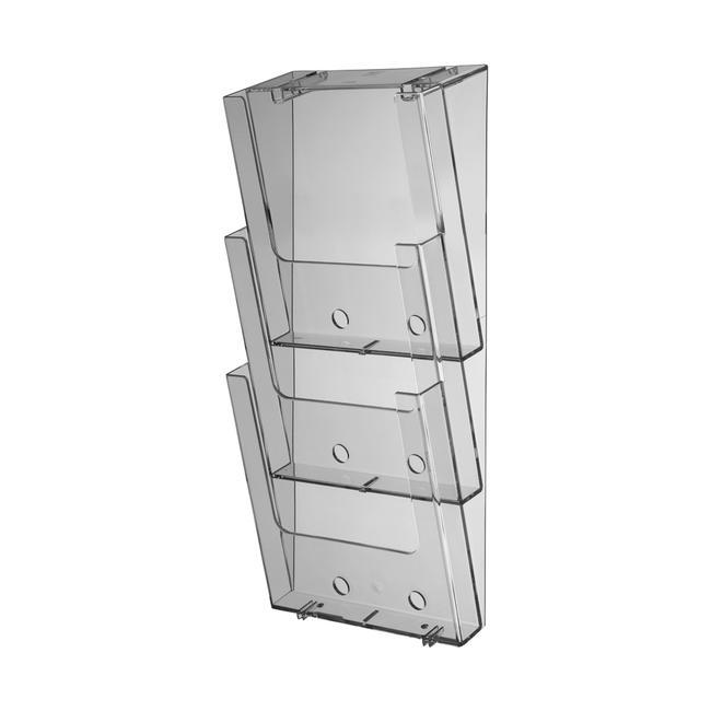 """3-Tier Wall-Mounted Leaflet Dispenser """"Lahn"""""""