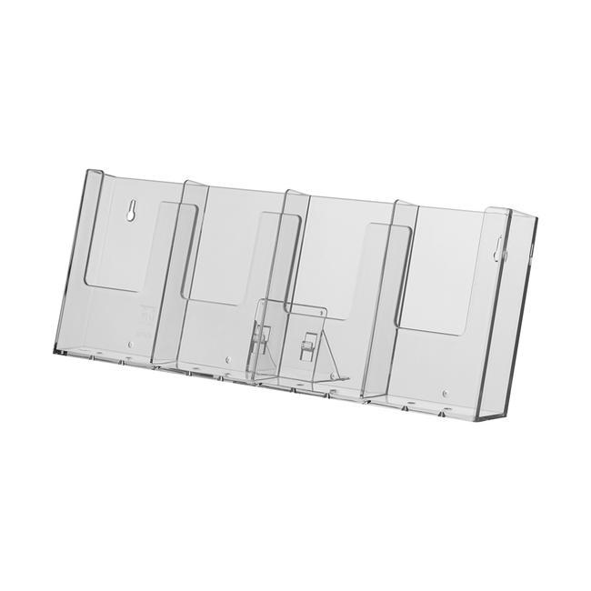 "4 Tier Leaflet Dispenser ""Universum"" 1/3 A4"