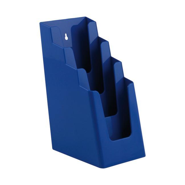 4 Tier Leaflet & Flyer Dispenser ⅓ A4