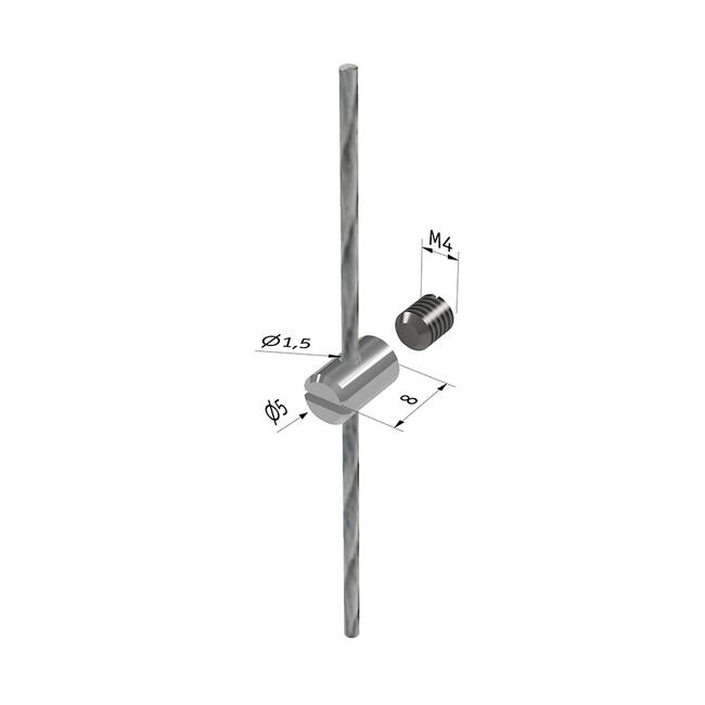 Screw Fitting for Cable System