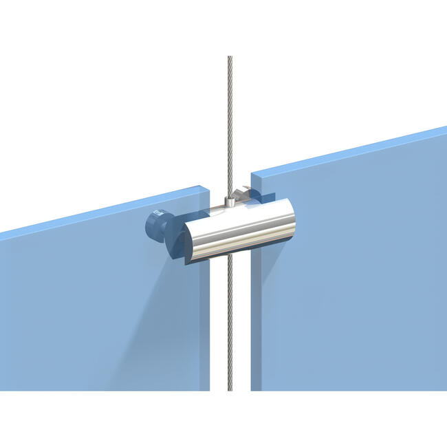 Double Holder for Cable System, attachments for 2 signs