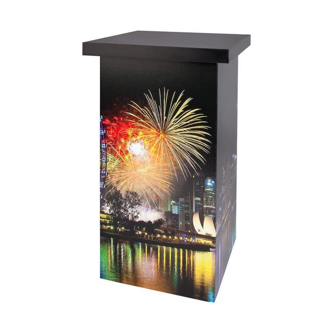 """Promotion Counter """"Honeycomb Tower"""" - recyclable"""