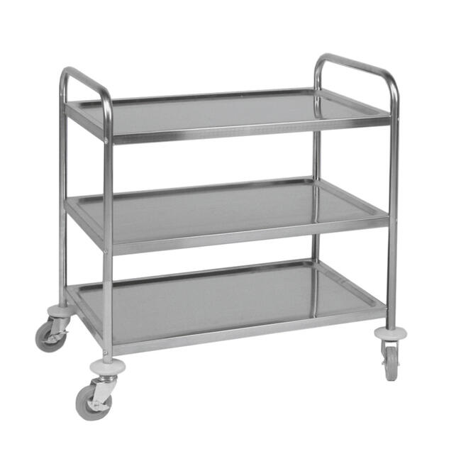 Serving Trolley with 3 Trays