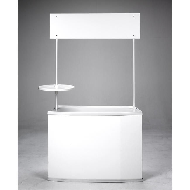 "Round Shelf ""Exhibition Counter"""