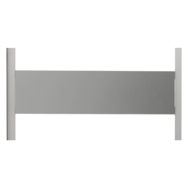 """Wanll Panel with 2 Crossbars for """"OCTAfabric"""" Magnetic Holder System"""