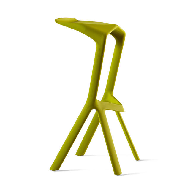 "Barstool ""MIURA"" designed by Konstantin Grcic"