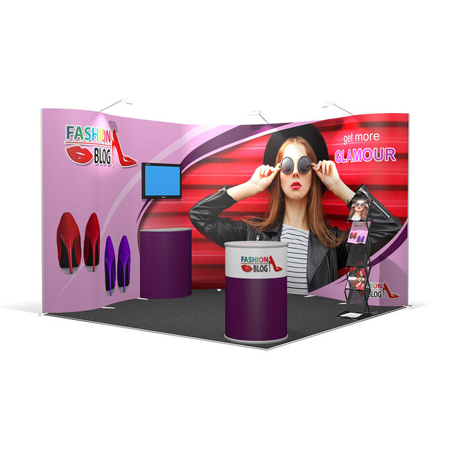 Exhibition Stand ISOframe 3 x 3 Metre