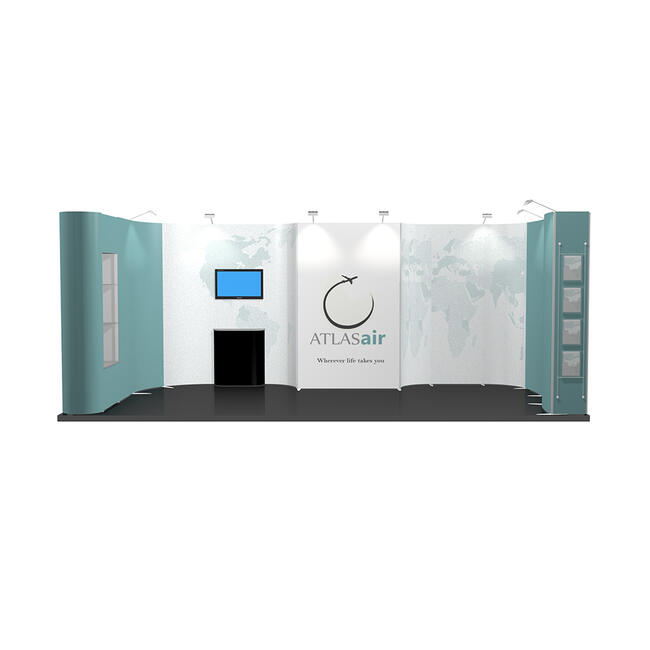 Exhibition Stand ISOframe 3 x 6 Metre
