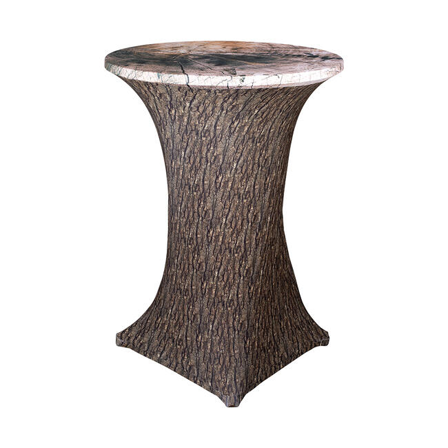 "Bistro Table Cover ""Samba"", Motif: tree"