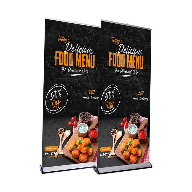 """Roll UP Banner """"Quickscreen 3"""" complete"""