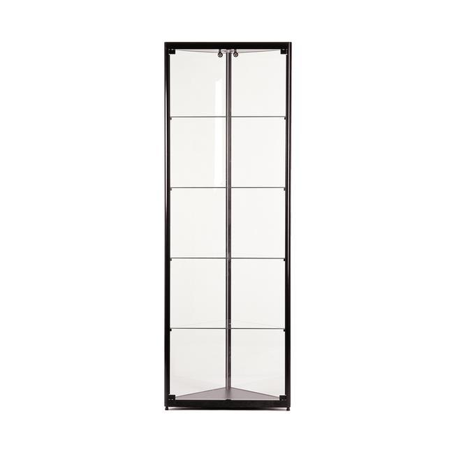 """Glass Corner Showcase """"500"""""""