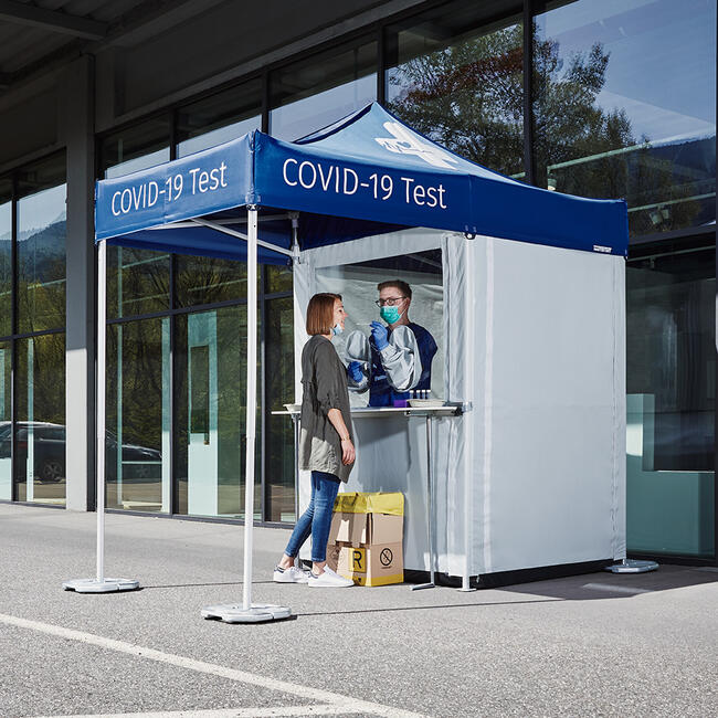 Mobile Test Cabin