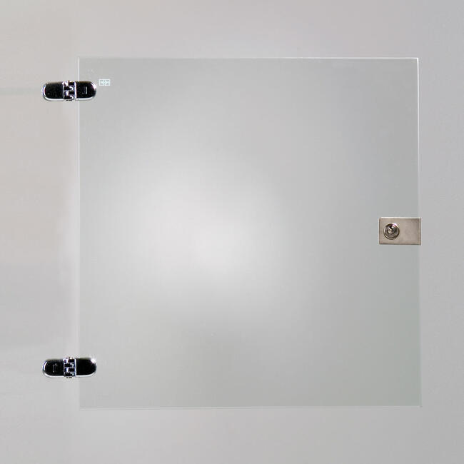 Glass Door for 1 Section of Self-Assembly Showcase