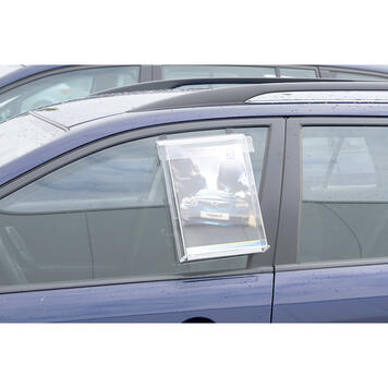 """Leaflet Dispenser """"Nile"""" with hooks for car windows"""