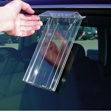"Leaflet Holder for Car Windows ""Weser"""