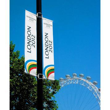 Banner/Flag System for Lamp Posts