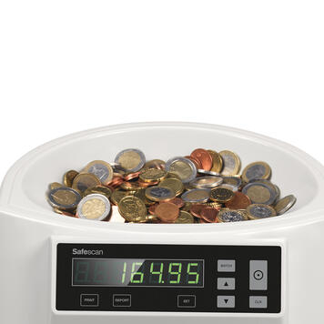 Safescan 1250 Coin Counter/Sorter