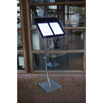 Stand for LED Menu Display