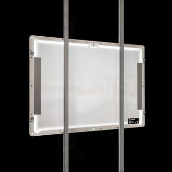 "LED Magnetic System ""TS"" Floorstanding Display"