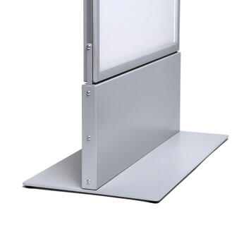 LED Poster Totem Display Stand