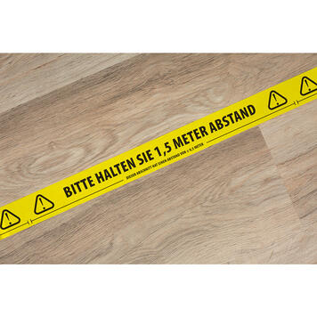 """Warning Tape """"Please keep your distance"""""""