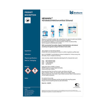 HEXAWOL® Hand Disinfection