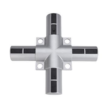 "Banner Frame Slot System Aluminium ""Cross Connector - Plastic"""