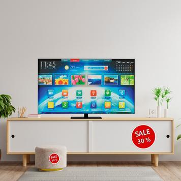 Stretchframe TV Dummy free-standing