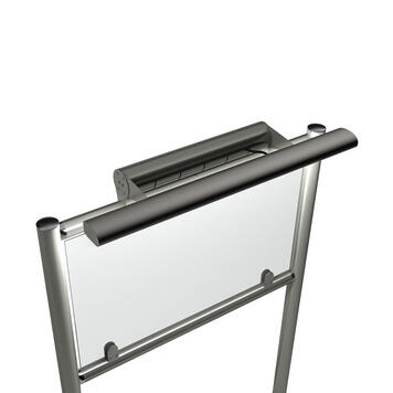 """Inox Stand """"Curved 60"""""""