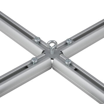 Cross Connector in Metal