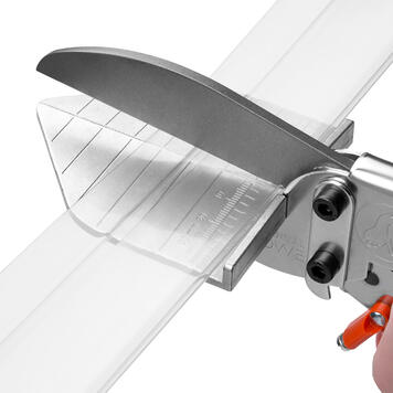 Scissors with Lever Transmission for Profiles