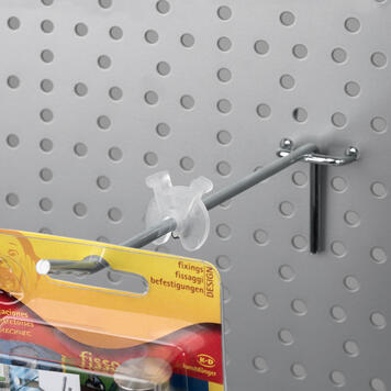 Stock Limiter for Single Pegboard Hooks