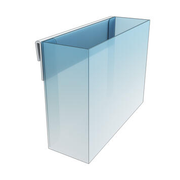 Shelf Edge Leaflet Dispenser