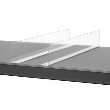 Shelf Divider with Adhesive Bracket