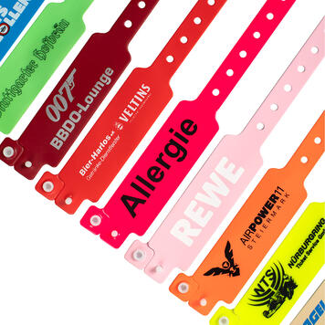 Wristband with Clip