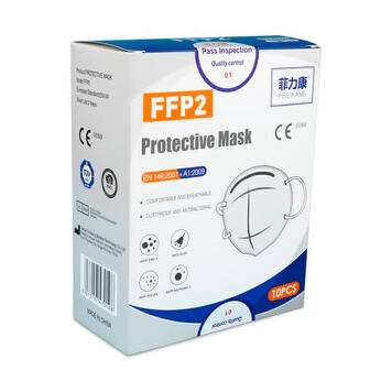 Respiratory Protection Mask FFP2, pack of 10 pieces