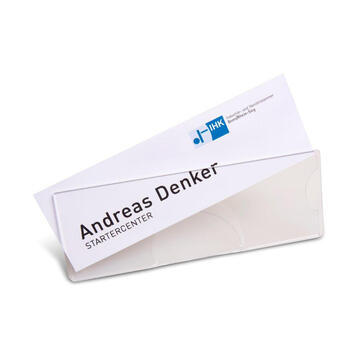 Tabletop Name Badge Papyrus | PC
