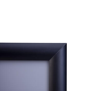 Black Snap Frame with 25mm Profile & Mitred Corners
