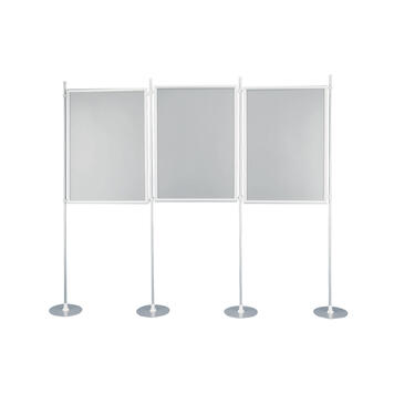 "Display Wall ""Eco"" with Aluminium Click Frame"
