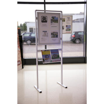 "Leaflet Shelf for Information Stand ""Broker"""