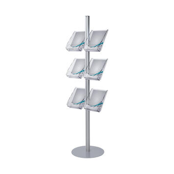 "Leaflet Display Stand ""Quattro Wing"""