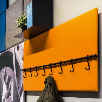 FlexiDeco-Functional / Hook Bar 600 mm, black